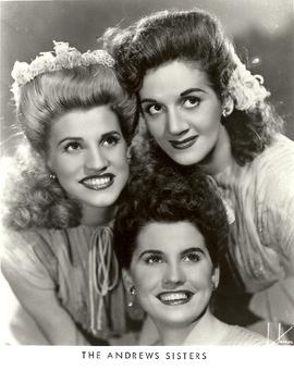 Robert Boyer Collection of Andrews Sisters Materials